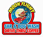 Moon Flight Car and Dog Wash & Coffee Drive Thru